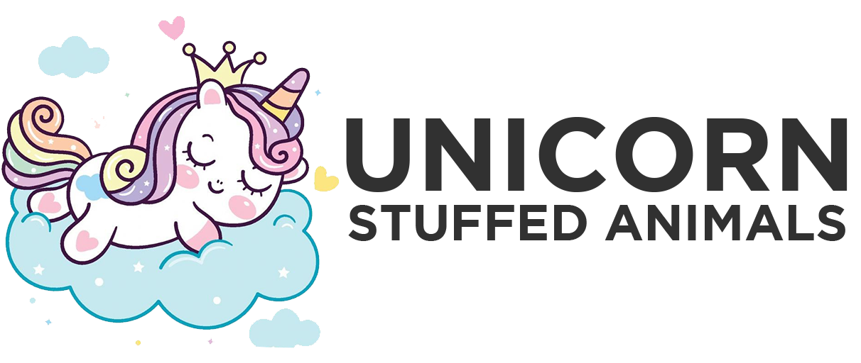 Unicorn Stuffed Animals Black Large