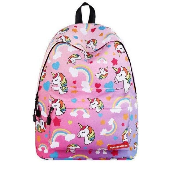 backpack unicorn bow in sky at sell