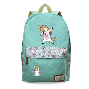backpack unicorn dab girl bag at back and backpack unicorn
