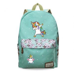 backpack unicorn dab green child price