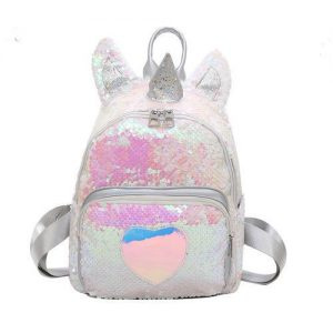 backpack unicorn glitter girl not dear