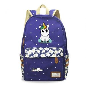 backpack unicorn kawaii blue unicorn stuffed animals