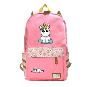 backpack unicorn kawaii pink at sell