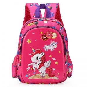backpack unicorn kawaii small girl at sell