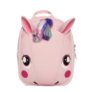 backpack unicorn kindergarten pink