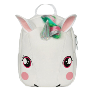 backpack unicorn kindergarten white bag at back and backpack unicorn