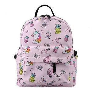backpack unicorn pink child buy