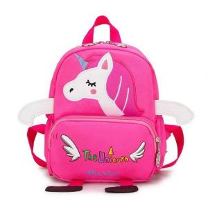 backpack unicorn school pink child unicorn stuffed animals