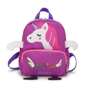 backpack unicorn school purple price