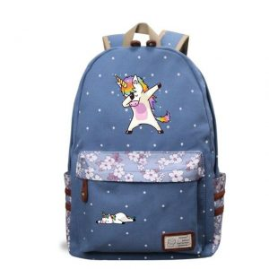 backpack unicorn who dab child