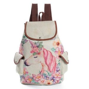 bag at back lightweight unicorn unicorn stuffed animals