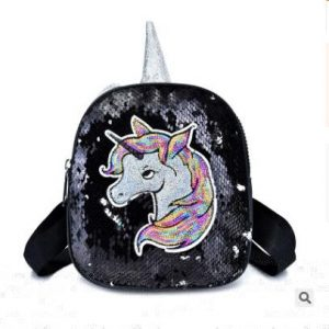 bag at back unicorn at glitter multi colored unicorn stuffed animals