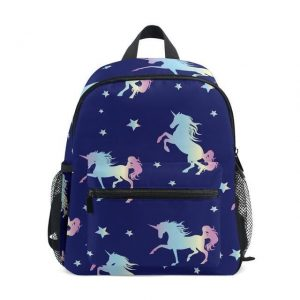 bag at back unicorn blue marine