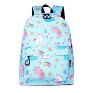 bag at back unicorn blue school price
