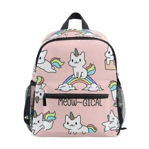 bag at back unicorn cat bag at back and backpack unicorn