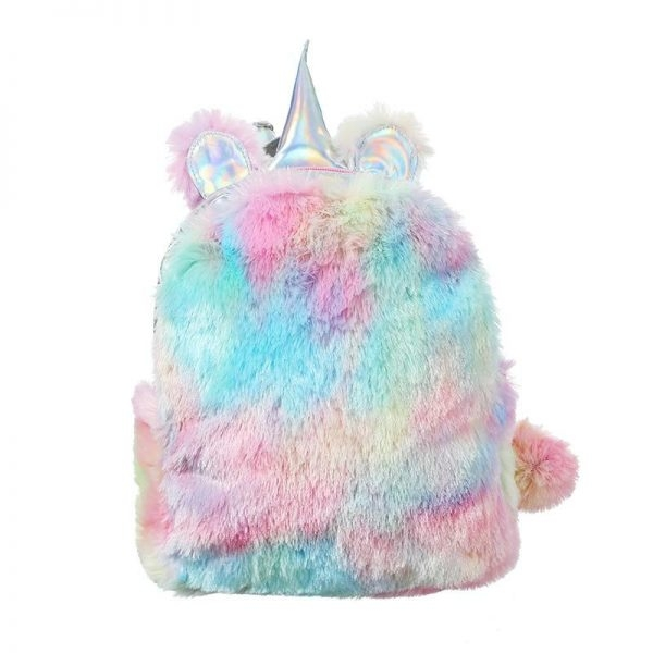 bag at back unicorn fur not dear