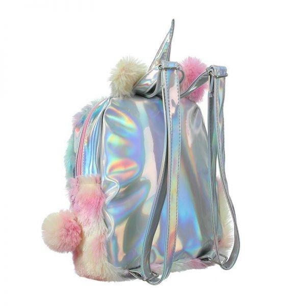 bag at back unicorn fur unicorn stuffed animals