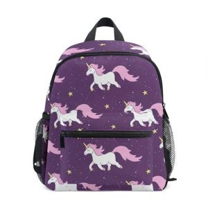 bag at back unicorn galaxy bag at back and backpack unicorn