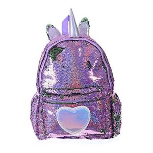 bag at back unicorn glitter girl