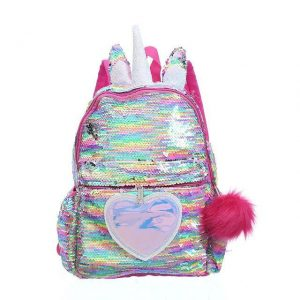 bag at back unicorn glitter multicolored not dear