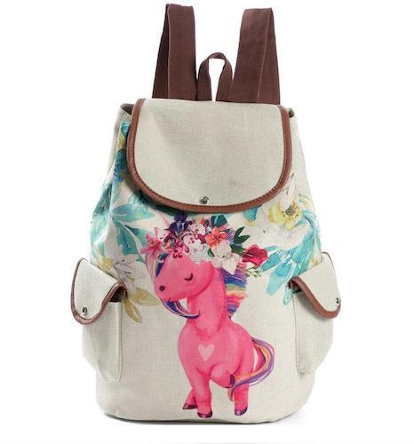 bag at back unicorn kawaii bag at back and backpack unicorn