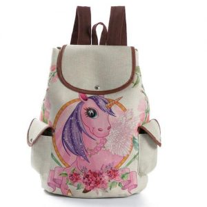 bag at back unicorn kawaii girl price