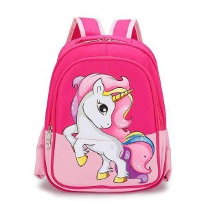 bag at back unicorn pink bag at back and backpack unicorn