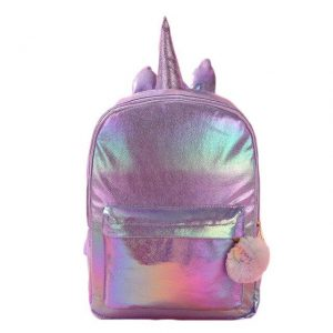 bag at back unicorn purple shiny price