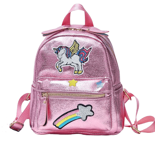 bag at back unicorn school girl price