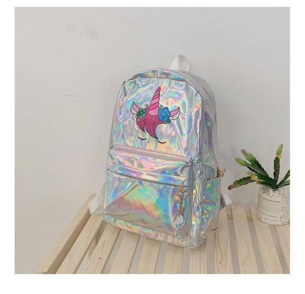 bag at back unicorn shiny buy