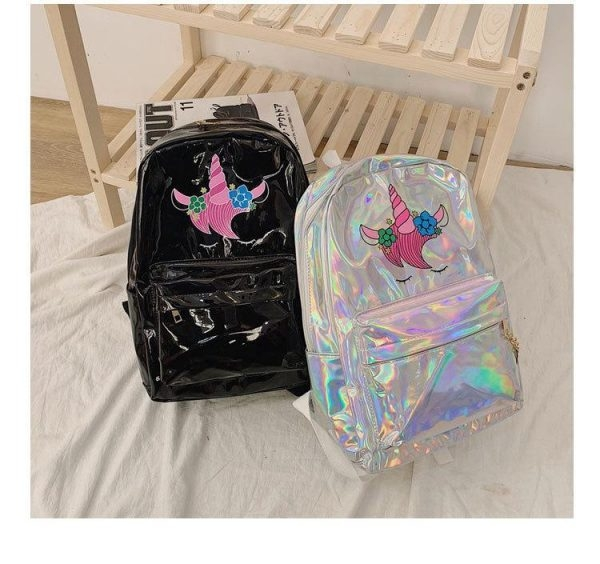 bag at back unicorn sparkling
