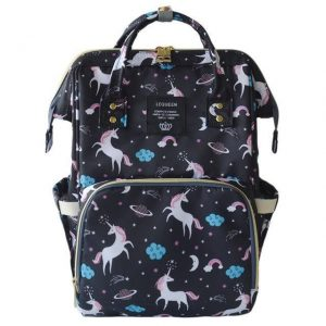 bag at change unicorn bag at back and backpack unicorn