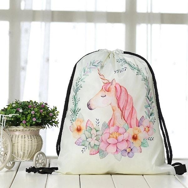 bag lightweight unicorn pink kawaii child unicorn stuffed animals