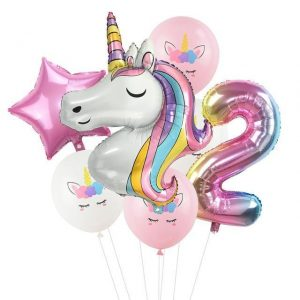 ball unicorn anniversary 2 years decoration anniversary unicorn