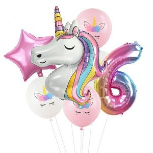 ball unicorn anniversary 6 years decoration anniversary unicorn