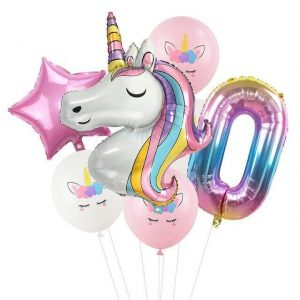 ball unicorn anniversary child
