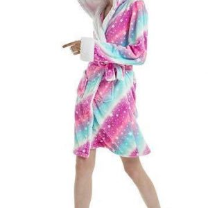 bathrobe of bath unicorn women l
