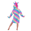bathrobe unicorn bow in sky 160cm