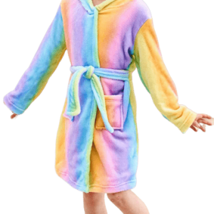 bathrobe unicorn child 160cm at sell