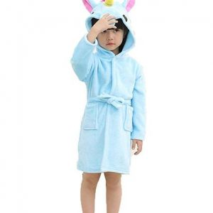 bathrobe unicorn in cotton 160cm buy