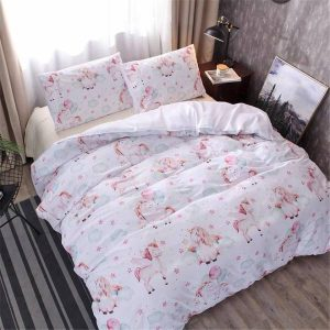 bedding unicorn night wonderful 210x245cm buy