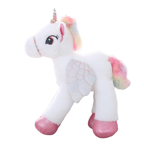 big plush unicorn 90cm pink fluff unicorn
