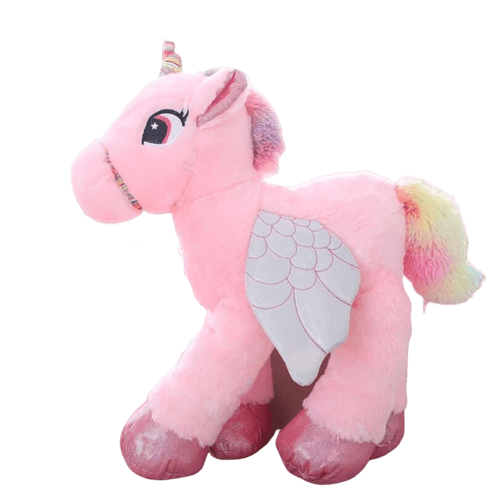 big plush unicorn 90cm pink not dear
