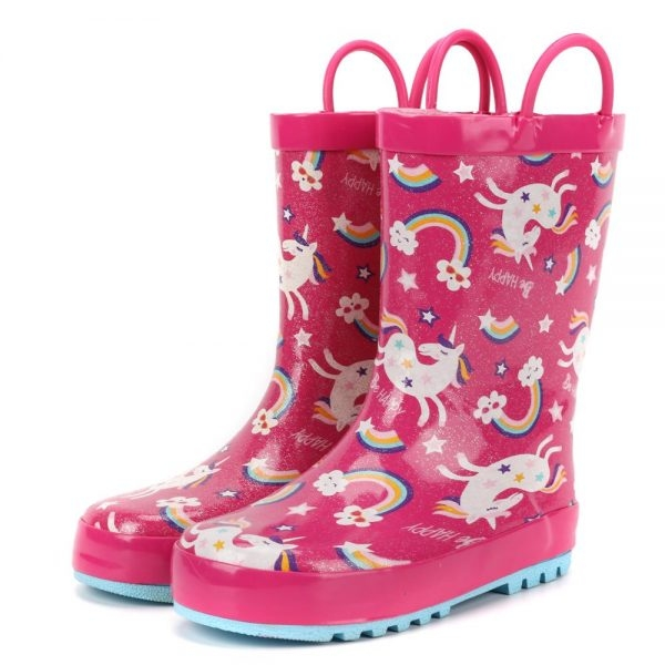 boot of rain unicorn bow in sky 33