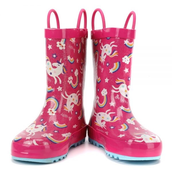 boot of rain unicorn bow in sky 33 no dear