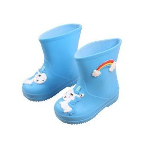 boots unicorn small girl in rubber blue 30 foot 19cm