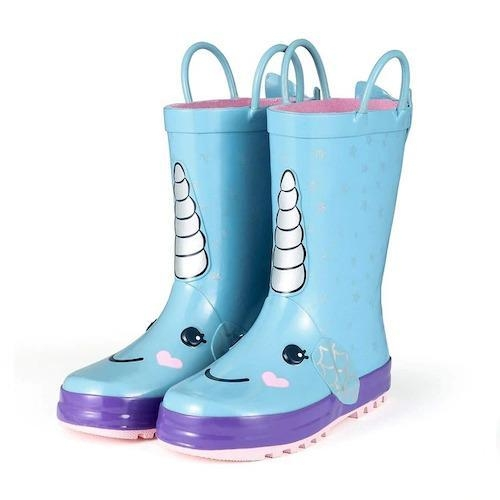 boots unicorn waterproof child 34 22cm at sell