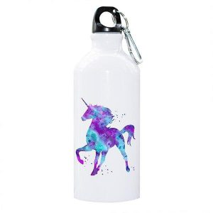 bottle unicorn in aluminum