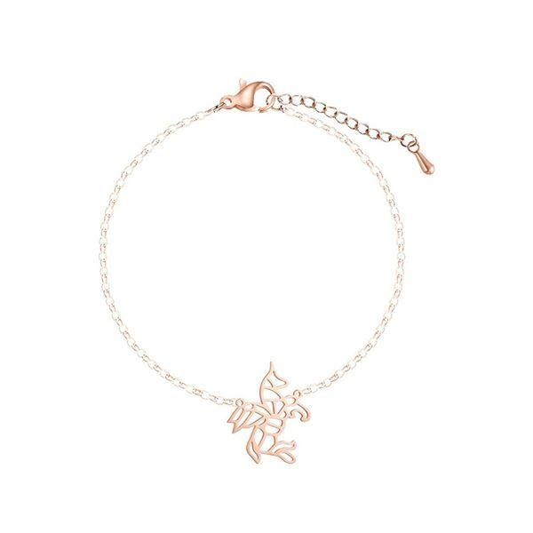 bracelet unicorn chain in gold money not dear