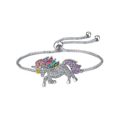 bracelet unicorn diamond multicolored buy